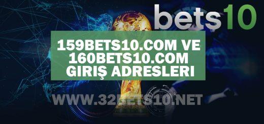 159bets10.com ve 160bets10.com Giriş Adresleri